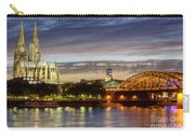 Cologne Cathedral With Rhine Riverside Carry-all Pouch