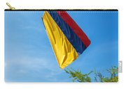 Colombian Flag And Blue Sky Carry-all Pouch