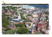 Colonial Annapolis Historic District And Maryland State House Carry-all Pouch