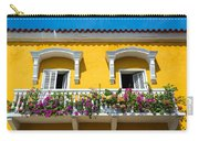 Colonial Balcony In Cartagena Carry-all Pouch