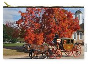 Carriage In Autumn Carry-all Pouch
