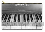 Colonial Piano Carry-all Pouch