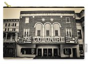 Colonial Theater In Phoenixville In Sepia Carry-all Pouch
