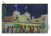 Colony Hotel At Night. Delray Beach Carry-all Pouch