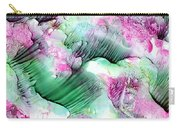 Color Abstract Red-green Carry-all Pouch