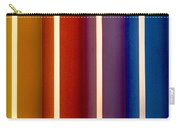 Color Bands Carry-all Pouch