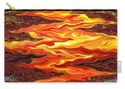 Color Fashion Waves Carry-all Pouch