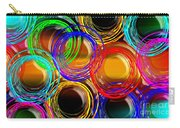 Color Frenzy 1 Carry-all Pouch by Andee Design