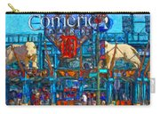 Color In Comerica Carry-all Pouch
