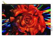 Color Intensive Rose Carry-all Pouch