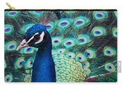 Color Me Peacock Carry-all Pouch