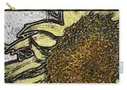Color Me Sunflower Carry-all Pouch