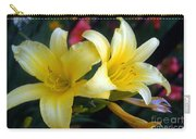 Color Of Lemon Carry-all Pouch