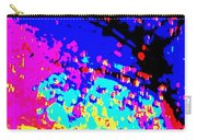 Color Of Rain Abstract Carry-all Pouch