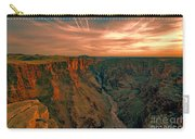 Color Of The Grand Canyon South Rim V8 Carry-all Pouch