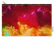 Color Shock 4 - Vibrant Digital Painting Carry-all Pouch by Sharon Cummings