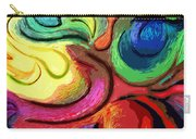 Color Swirl Carry-all Pouch
