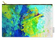 Color Wash Abstract Carry-all Pouch