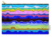 Color Waves No. 4 Carry-all Pouch
