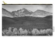 Colorado America's Playground In Black And White Carry-all Pouch