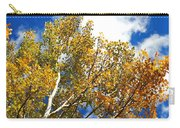 Colorado Aspens And Blue Skies Carry-all Pouch