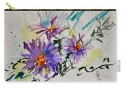 Colorado Asters Carry-all Pouch