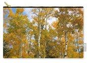 Colorado Autumn Aspens  Carry-all Pouch