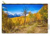 Colorado Backcountry Autumn View Carry-all Pouch