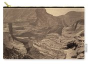 Colorado Canyons, 1872 Carry-all Pouch