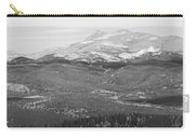 Colorado Continental Divide Panorama Hdr Bw Carry-all Pouch