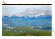Colorado Continental Divide Panorama Hdr Crop Carry-all Pouch