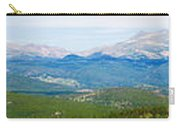 Colorado Continental Divide Panorama Hdr Carry-all Pouch