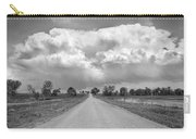 Colorado Country Road Stormin Bw Skies Carry-all Pouch by James BO  Insogna