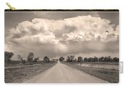 Colorado Country Road Stormin Sepia  Skies Carry-all Pouch