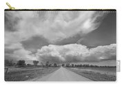 Colorado Country Road Stormin Skies Bw Carry-all Pouch