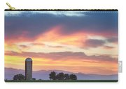 Colorado Farmers Sunset Carry-all Pouch
