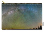 Colorado Indian Peaks Milky Way Panorama Carry-all Pouch