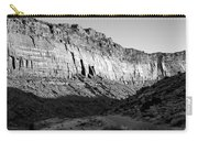 Colorado River Cliff Bw Carry-all Pouch