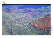 Colorado River From Walhalla Overlook On North Rim Of Grand Canyon-arizona Carry-all Pouch