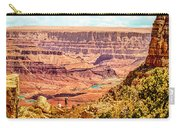 Colorado River One Mile Below And 18 Miles Across The Grand Canyon  Carry-all Pouch