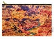 Colorado River 1 Mi Below 100 Miles To Vermillion Cliffs Utah Carry-all Pouch