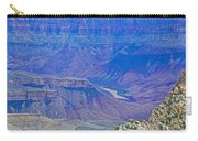 Colorado River Two At Cape Royal On North Rim Of Grand Canyon-arizona Carry-all Pouch