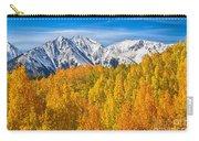 Colorado Rocky Mountain Autumn Beauty Carry-all Pouch