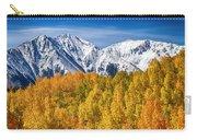 Colorado Rocky Mountain Autumn Magic Carry-all Pouch
