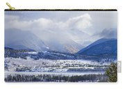 Colorado Rocky Mountain Autumn Storm Carry-all Pouch