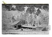Colorado Rocky Mountain Barn Bw Carry-all Pouch