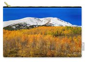 Colorado Rocky Mountain Independence Pass Autumn Pano 2 Carry-all Pouch