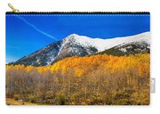 Colorado Rocky Mountain Independence Pass Autumn Panorama Carry-all Pouch