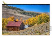 Colorado Rustic Rural Barn With Autumn Colors  Carry-all Pouch