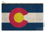 Colorado State Flag Carry-all Pouch